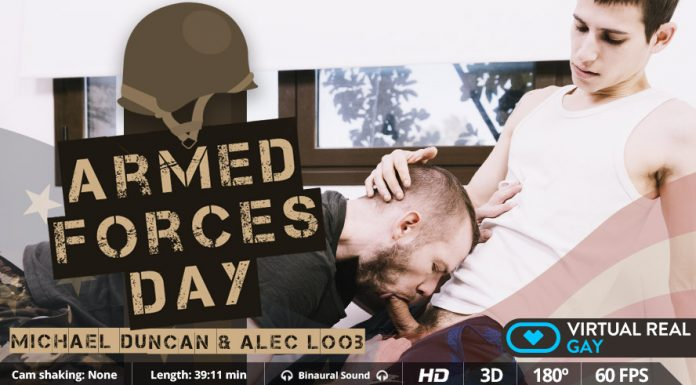 Armed Forces Day - Military VR Sex